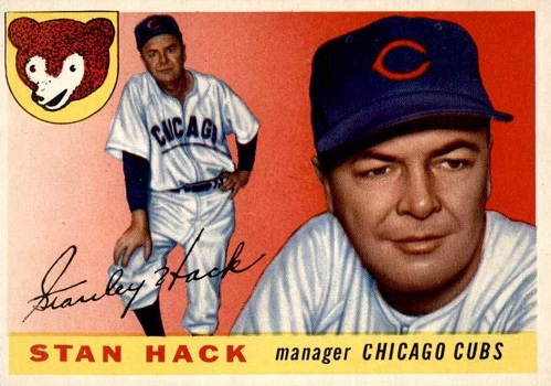 1955 Topps Stan Hack Brought an Old Friend Home