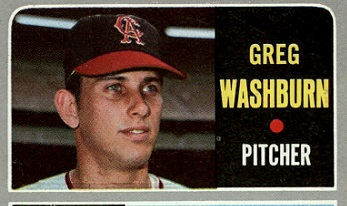 1970 Topps, Greg Washburn, Wally Wolf, and Crossing Paths