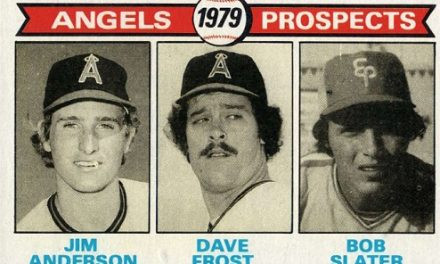 1979 Topps Dave Frost — Cold Morning Dew Before Season in the Sun