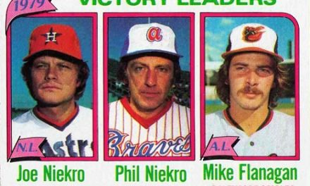 1980 Topps Victory Leaders Mike Flanagan Sold Him Short