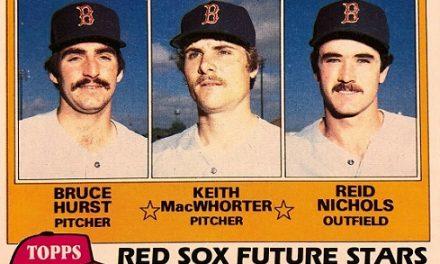 1981 Topps Keith MacWhorter Wore the Uniform