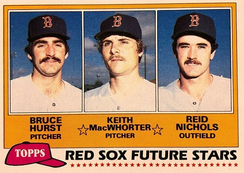 1981 Topps Keith MacWhorter Wore the Uniform
