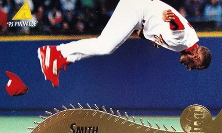 Was 1995 Pinnacle Ozzie Smith a Face-Plant?