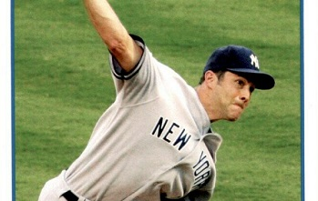 2009 Topps Mike Mussina Broke the Rules