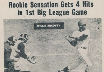1960 Nu-Card Baseball Hi-Lites Willie McCovey Fed the (Deserved) Hype