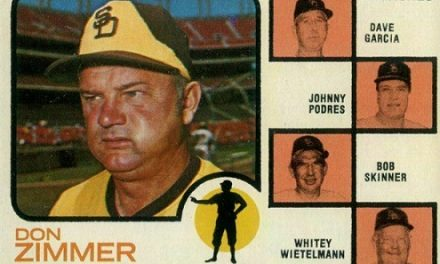 1973 Topps Don Zimmer a Second-Chance Rookie Card