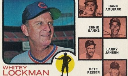 1973 Topps Ernie Banks Was a Team Effort