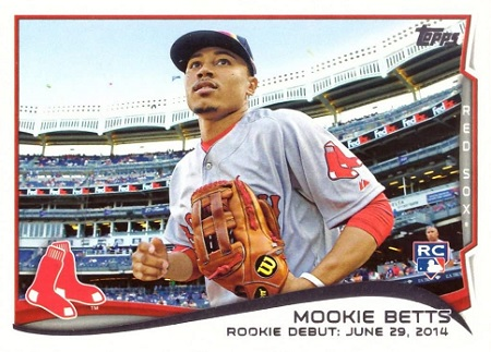 Mookie Betts Rookie Cards on eBay — Most Watched!