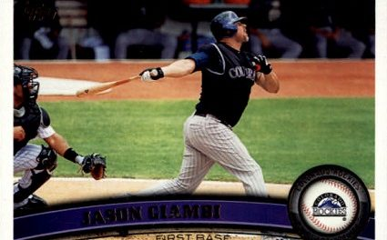 2015 Stadium Club Jason Giambi a Career-Capper Born of Patience
