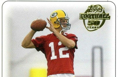 Aaron Rodgers Rookie Cards on eBay — Most Watched!
