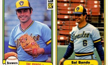 1982 Donruss and Fleer Sal Bando Had Their Timing Down