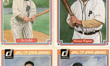 1983 Donruss Hall of Fame Heroes (Almost) Completely Amazing