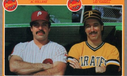 1985 Fleer Holland Tunnell a Masterpiece of Punnery