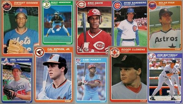 1985 Fleer Baseball Cards – 10 Most Valuable