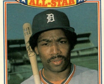 1985 Topps Glossy All-Star Chet Lemon Was One of a Kind