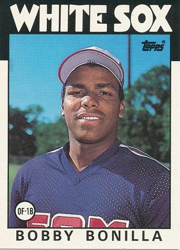 1986 Topps Traded Bobby  Bonilla
