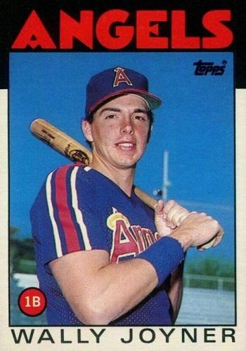 1986 Topps Traded Wally  Joyner