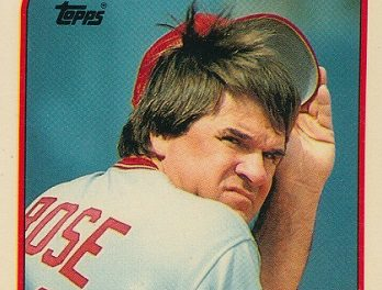 1989 Topps Pete Rose Had Something to Hide