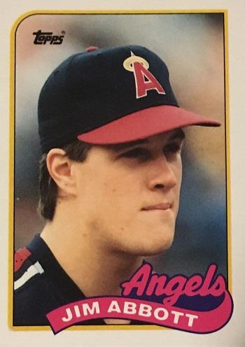 1989 Topps Traded Jim Abbott