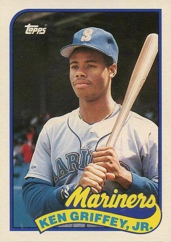 1989 Topps Traded Ken Griffey Jr.