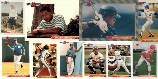 1992 Bowman Baseball Cards – 10 Most Valuable