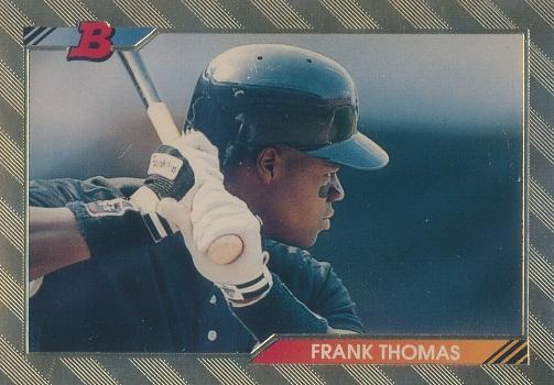 1992 Bowman Frank Thomas Foil