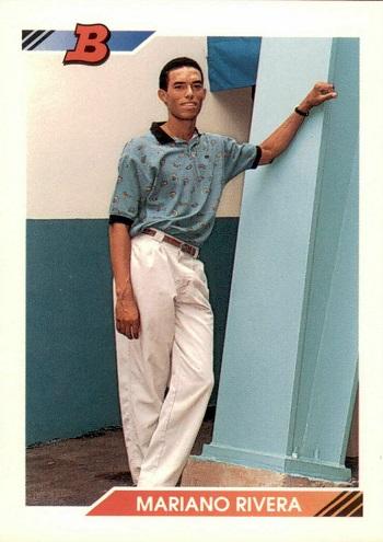 1992 Bowman Mariano Rivera