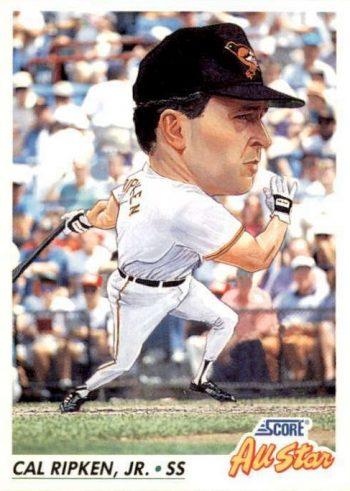 1992 Score Cal Ripken Jr.