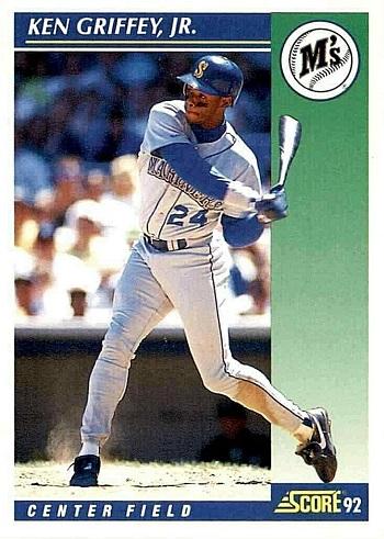 1992 Score Ken Griffey Jr.