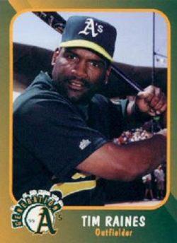 1999 Plumbers Union Tim Raines (#30)