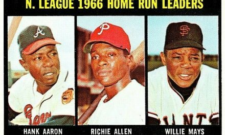 This Dick Allen Baseball Card Put Him in Good Company