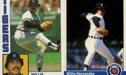These 1984 Willie Hernandez Baseball Cards Clicked