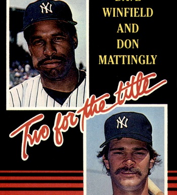 Two for the Title! 1985 Donruss Don Mattingly and Dave Winfield Captured the Moment