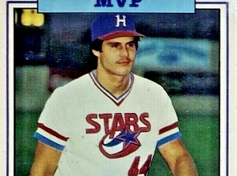 1986 Donn Jennings Southern League All-Stars Jose Canseco Rode the Wave