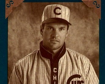 Ryne Sandberg Channels Babe Ruth on His 1992 Donruss Studio Heritage Baseball Card