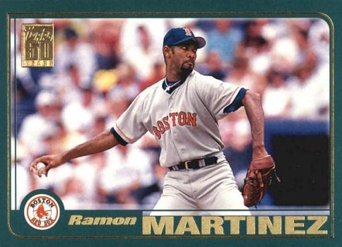 2001 Topps Ramon Martinez a Belated Reunion
