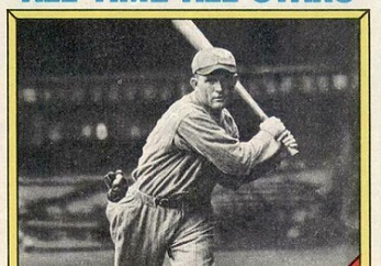 1976 Topps Rogers Hornsby a Carboard History Lesson