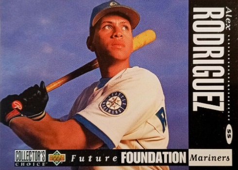 1994 Collector's Choice Alex Rodriguez Rookie Card Saw the Future