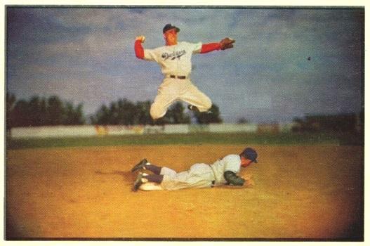 1953 Bowman Pee Wee Reese