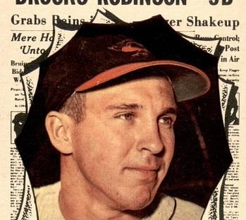 1961 Topps All-Star Brooks Robinson Made an Announcement