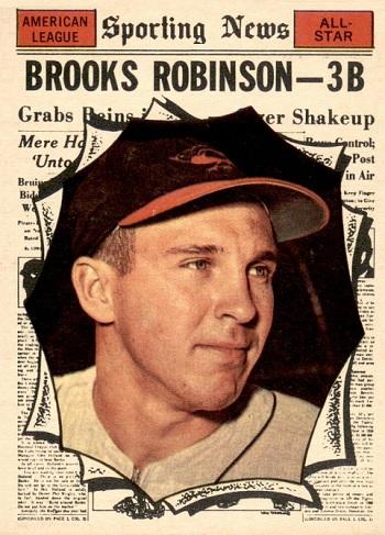 1961 Topps All-Star Brooks Robinson
