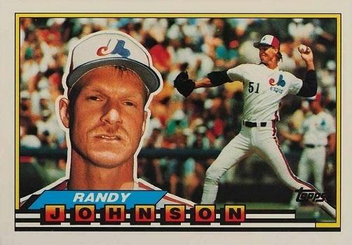 1989 topps big randy johnson