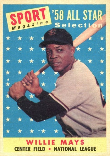 1958 Topps Willie Mays All-Star