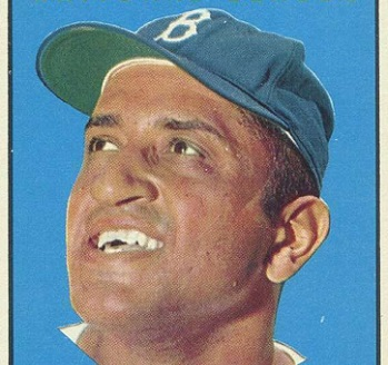 1961 Topps Don Newcombe MVP a Capper Proxy
