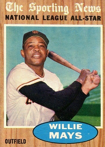 1962 Topps Willie Mays All-Star