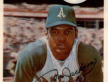 1970 Kellogg's Reggie Jackson Passed the Test