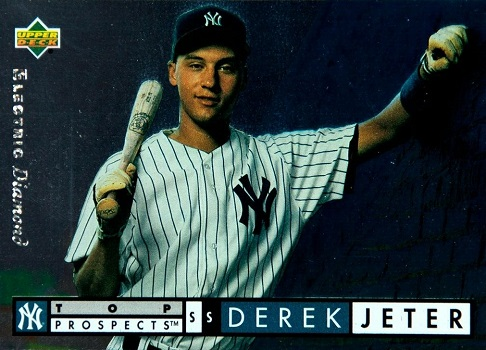 1994 Upper Deck Derek Jeter Electric Diamond