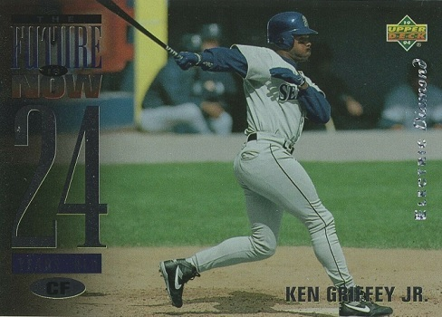 1994 Upper Deck Ken Griffey Jr. The Future Is Now Electric Diamond