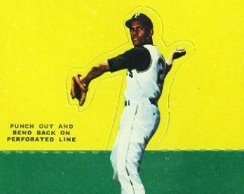 1964 Topps Stand-Up Roberto Clemente a Standout You Shouldn't Test