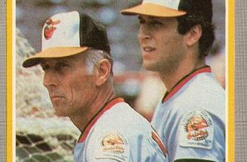 1985 Fleer Cal Ripken Father & Son a Vicarious Thrill